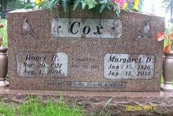 Margaret D <i>Shireman</i> Cox