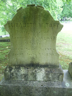 Elizabeth <i>White</i> Taft
