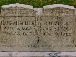Hannah Eliza <i>Elliott</i> Miller