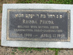 Rhoda Pekor