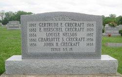 Charlotte <i>Schlenck</i> Crecraft
