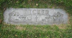 Susan Mildred Susie <i>Kennedy</i> Becker
