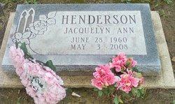 Jacquelyn Ann Henderson