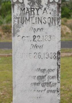 Mary Ann <i>Boykin</i> Tumlinson