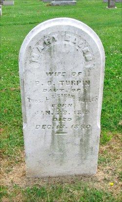 Mary Eleanor Ellen <i>Butler</i> Turpin