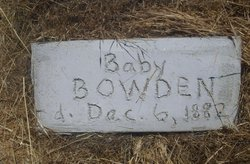 Baby Bowden