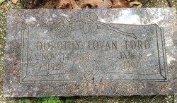 Dorothy Lovan Ford