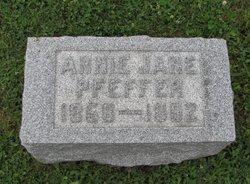 Annie Jane Kuhns Pfeffer