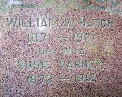 Susie <i>Varney</i> Hatch