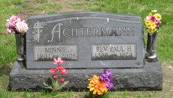 Minnie <i>Klingenborg</i> Achtermann
