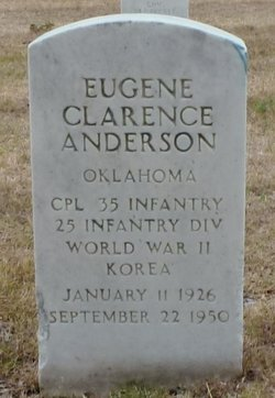 Eugene Clarence Anderson
