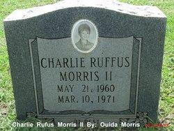 Charlie Rufus Rootbeer Morris, II