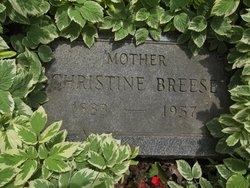 Christine Tina <i>Eckardt</i> Breese