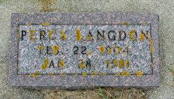 Percy Langdon