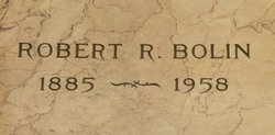 Robert R. Bolin