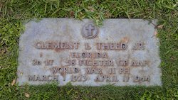 Lieut Clement L Theed, Jr