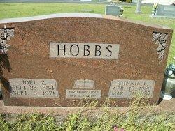 Rev Joel Z. Hobbs