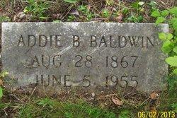 Addie B. Baldwin