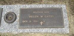Helen W <i>Wheeler</i> Gates