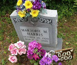 Marjorie Mildred <i>Colburn</i> Harris