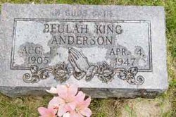 Beulah <i>King</i> Anderson