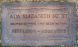 Ada Elizabeth Scott <i>Tullis</i> Millsap