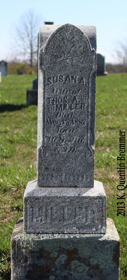Susannah M Susan <i>Bowles</i> Miller