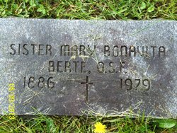 Sr Mary M. Bonavita Berte