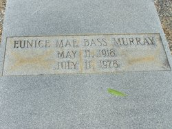 Eunice Mae <i>Bass</i> Murray