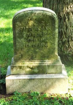 Caroline Ann <i>Edmands</i> Parsons