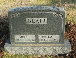 Mary Margaret Mollie <i>Ryan</i> Blair