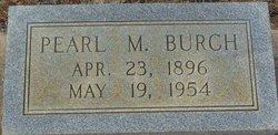 Pearl M. Burch