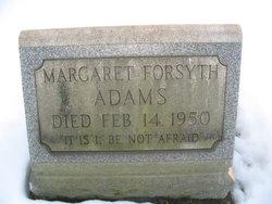 Margaret <i>Forsyth</i> Adams