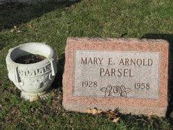 Mary E <i>Arnold</i> Parsel