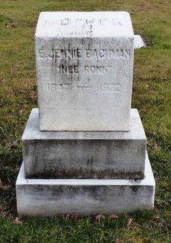 E. Jennie <i>Ronk</i> Bachman
