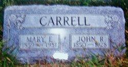 Mary E Carrell