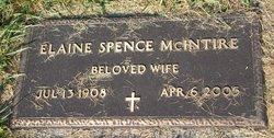 Elaine <i>Spence</i> McIntire