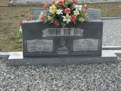 Mary Elizabeth <i>Cooper</i> White