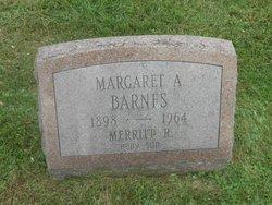 Margaret A <i>Galloway</i> Barnes
