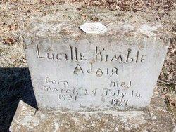 Lucille <i>Kimble</i> Adair