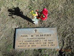 Adm Paul Morris Albright