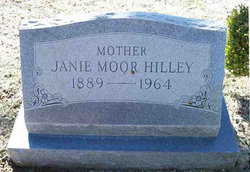 Mary Janie Janie <i>Moor</i> Hilley