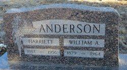 Harriet Ethel <i>Hayne</i> Anderson