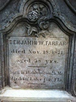 Benjamin W. Farrar