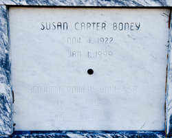 Susan <i>Carter</i> Boney