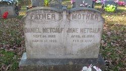 Daniel Burdette Metcalf, Sr