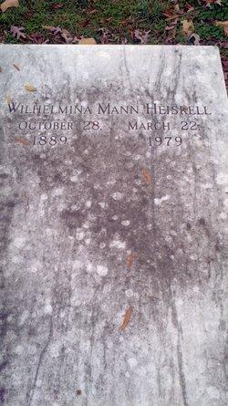 Wilhelmina <i>Mann</i> Heiskell