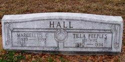 Matilda Archer Tilla <i>Peeples</i> Hall