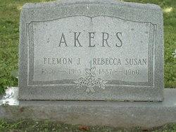 Rebecca Susan <i>Braley</i> Akers