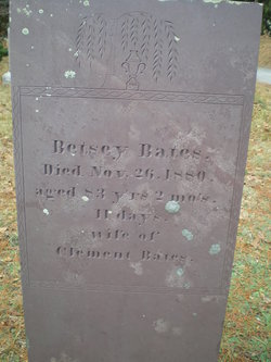 Betsey <i>Burgess</i> Bates